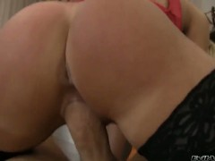 Zafira May finds Rocco Siffredi hot and takes his hard dick in her mouth