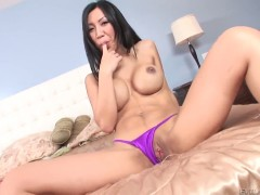 Exotic Tia Ling is just another fucktoy of hard cocked guy that bangs her hard