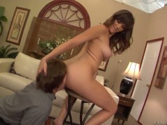 Holly Michaels offers her snatch to Kyle Stone