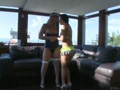 Lana B fulfills her sexual needs with Amabella