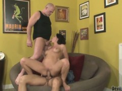 Roxanne Hall waiting for a real double penetration