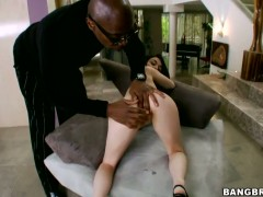 Tegan Tate with big bottom is on the edge of nirvana with man semen on her face